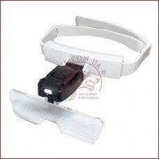 Бинокулярная лупа очки TH-9201, увеличительные очки для косметолога, легкий вес, компактные