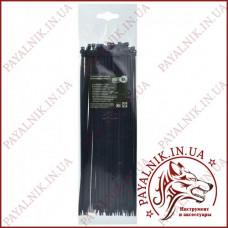 Стяжка кабельная черная 4*370 (3,6*370мм) (100шт)