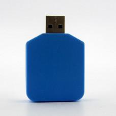 USB фонарь светодиодный LED 5v 1.6W (40*35*9мм) XML-03-S