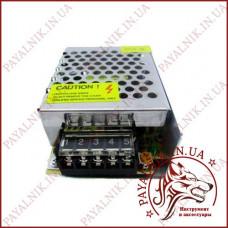 Блок питания 12v 2.1a 25w IP20 Металлический перфорированный (80*50*22)