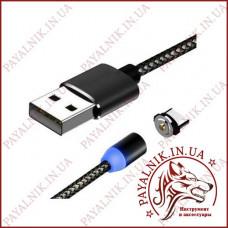 USB КАБЕЛЬ ASPOR MAGNETIC 360 LIGHTNING, 1М/2.1A
