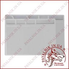 Антистатический настольный коврик для пайки плат NT 828 (200*280мм)