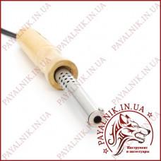 Паяльник 60w с деревянной ручкой, паяльник с регулятором мощности, медное жало