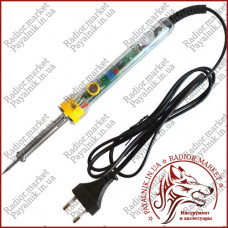 Паяльник с регулятором температуры ZD-708, 30-50W, 220V, прозрачный