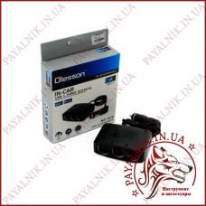 Автомобильный разветвитель прикуривателя Olesson № 1636 12-24V 100W 3 гнезда, 3 тумблера + 2 USB