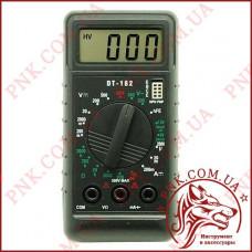Мультиметр универсальный Digital DT-182, карманный тестер с прозвонкой