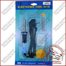Набор для пайки Kemot 920A  паяльник, подставка, припой, флюс (LUT0014)