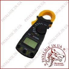 Клещи токоизмерительные Digital DT-3266L, токовые клещи с мультиметром