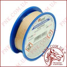 Припой CYNEL 100 грамм, диаметр 1.0мм легкоплавкий с флюсом, КАЧЕСТВО ПОЛЬША