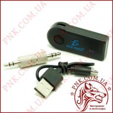 Адаптер автомобильный Bluetooth AUX, 3,5мм стерео