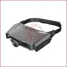 Збільшувальні окуляри MG81007, бинокулярные очки с подсветкой для пайки и ремонта