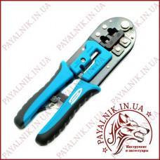 Обжимные клещи (кримпер) GROSS для обжима RJ-45, 6P, 8P и RJ-11/12, 6P, 8P