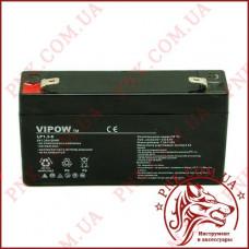 Аккумулятор гелиевый Vipow 6V 1.3Ah (BAT0203)