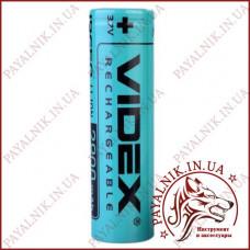 Аккумулятор 18650 литиевый Videx 2800mah