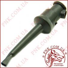 Щуп-зажим типа крючок, черный (12-2983BK)